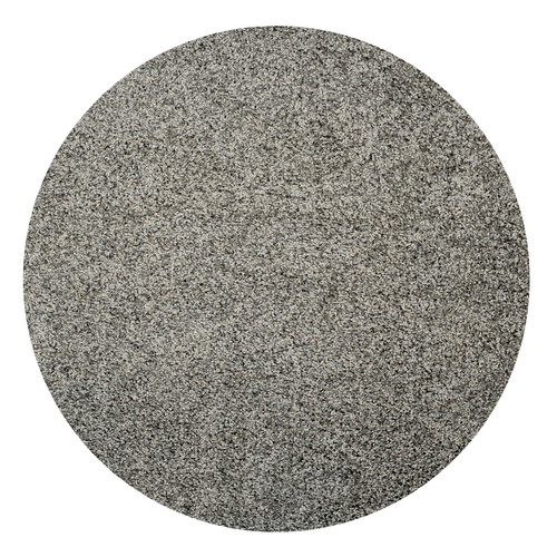 Rugnur Bella Maxy Home Single Solid Grey Shag Area Rug