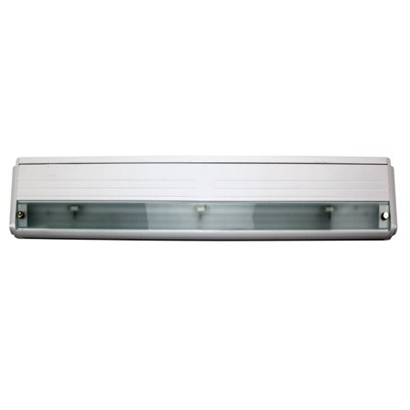 Lincs Halogen Modular By Alkco LINCS100HN27-WE Under Cabinet Light Halogen Lamp Fixture; 19 Inch White Gloss (Halogen Under Cabinet Fixture)