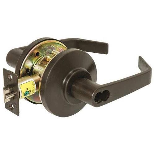 BEST 7KC37D15DS3613 Lever Lockset,Mechanical,Storeroom,Grd.2 G0118651