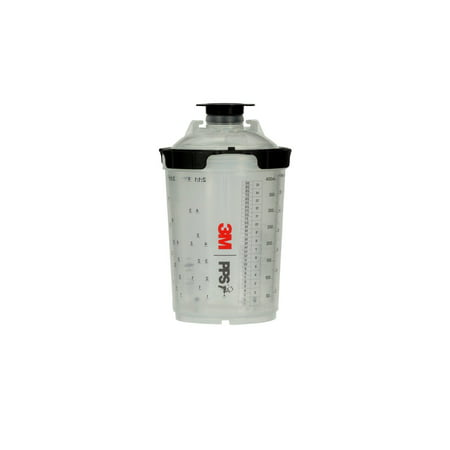 3m Pps Series 20 Spray Cup System Kit 26112 Midi 135 Fl Oz 400