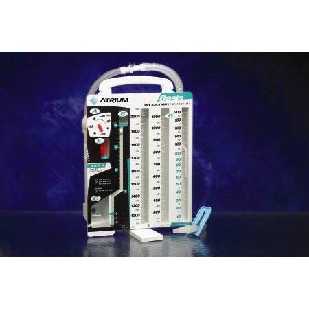 Chest Drain System - 6 Each / Case (Medical Storage Containers)