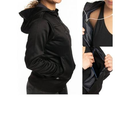 Stormtech Softshell Jacket With Hood Warm Ladies Winter Coat Cute Hoodies For Women Zip Up