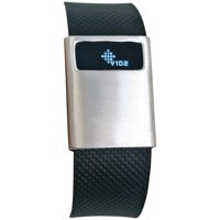 Funktional Wearables BASICCOVER-SILV Basic Cover For Fitbit Charge/Charge HR (Silver)