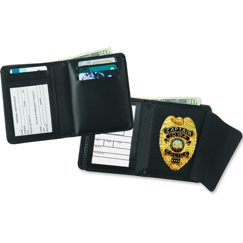 Strong Leather Company 79230-4782 Deluxe Single Id Badge Wallet - 79230-4782 - Strong Leather Company