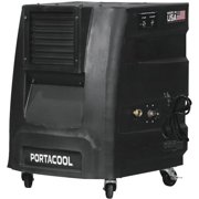 Factory Reconditioned PORTACOOL Cyclone 2200 CFM 500 sq ft 2-Speed Portable Evaportative Cooler