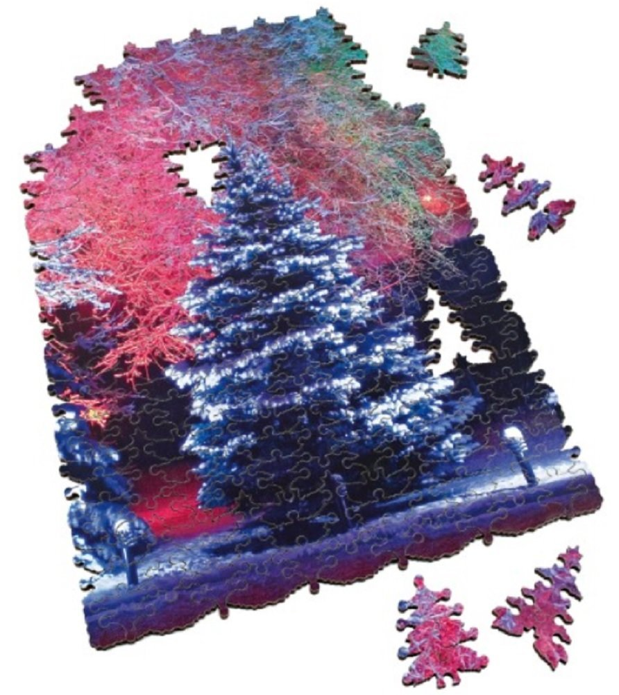The Puzzle That Ruined Christmas 245 Piece Wooden Jigsaw Puzzle by
