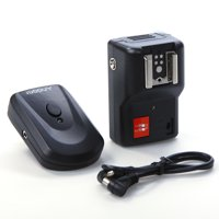 Andoer 4 Channels Wireless Remote Speedlite Flash Trigger Universal for Canon Nikon Pentax Olympus PT-04GY