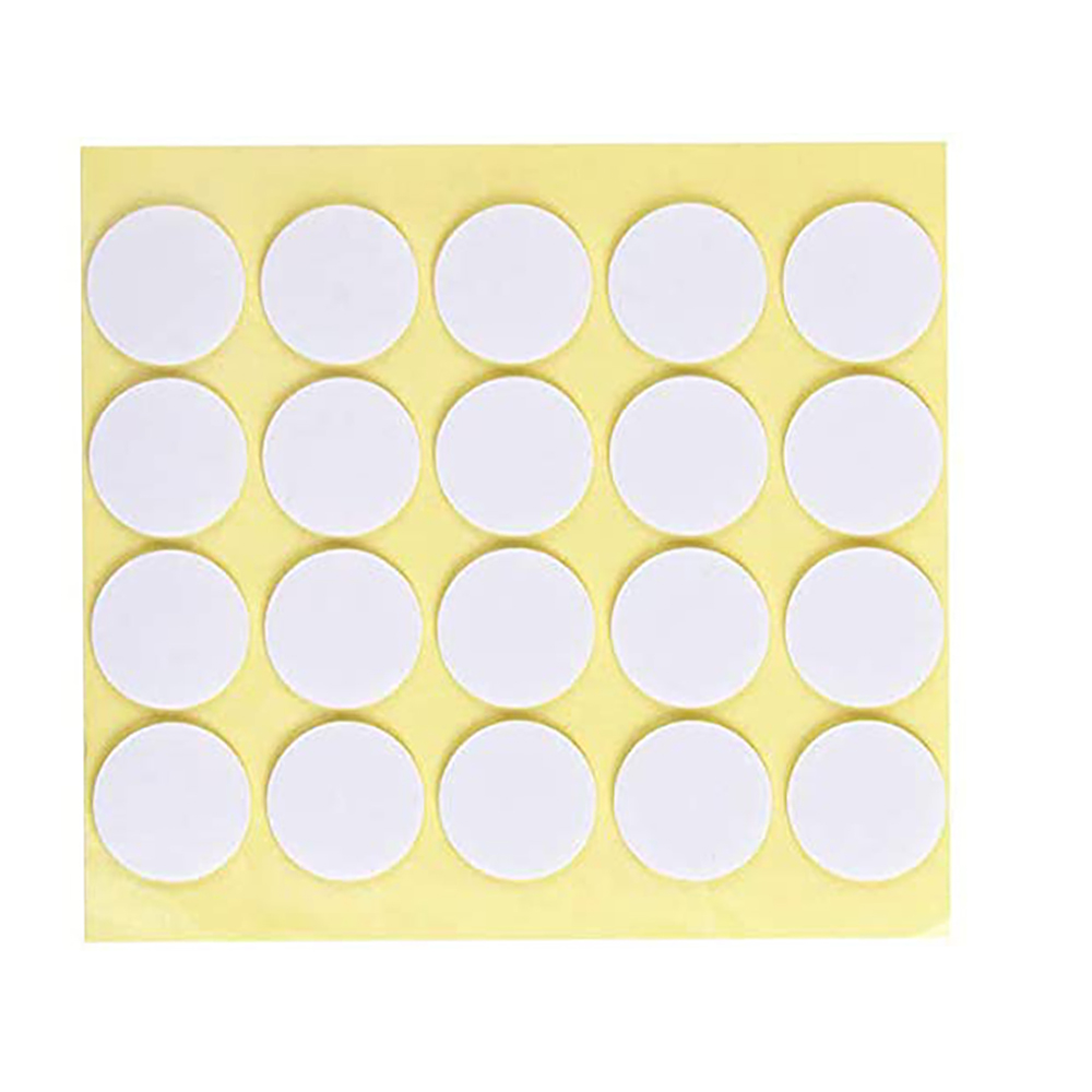 Candle Wick Stickers 2 mm Wax Stickers Heat Resistance Glue Adhere Steady in Hot Wax Double-Sided Stickers for Candle Making 500