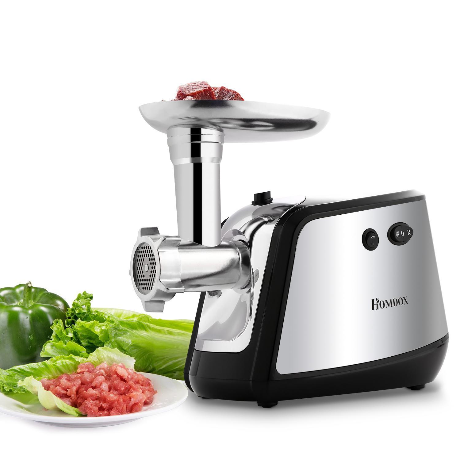 Clearance Hascon 350W US Plug Electric Meat Grinder Sausage Maker Mincing Machine HITC