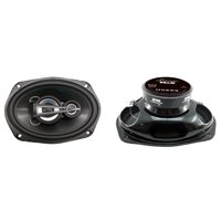 "LANZAR MX693 - 6"" x 9"" 600 Watts 3 Way Triaxial Speakers"