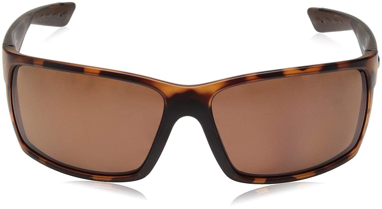 f8bb71a6f637 Costa Del Mar - Costa Del Mar Reefton RFT 66 Matte Retro Tortoise Sunglasses  Copper Lens 580P - Walmart.com