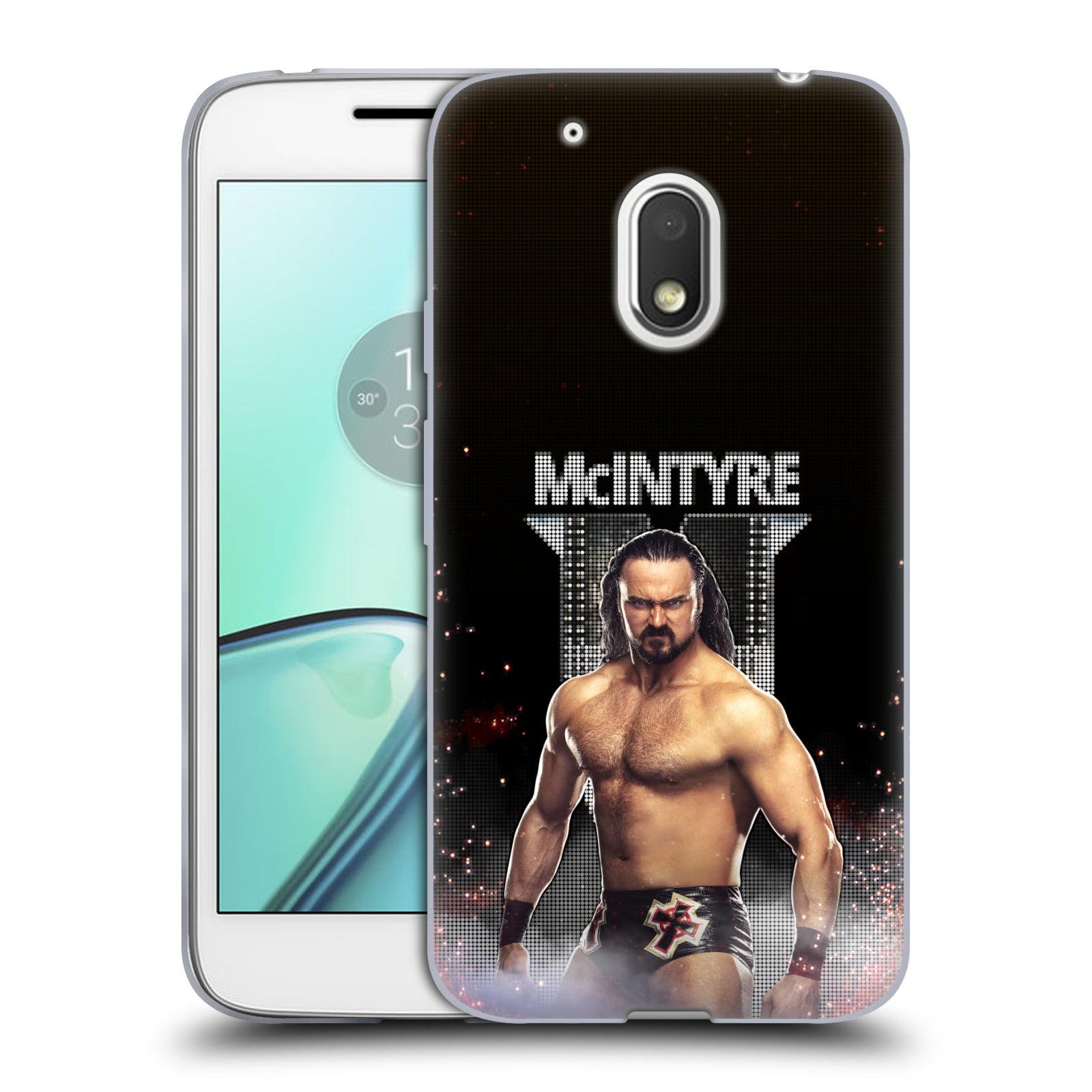 OFFICIAL WWE DREW MCINTYRE SOFT GEL CASE FOR MOTOROLA PHONES