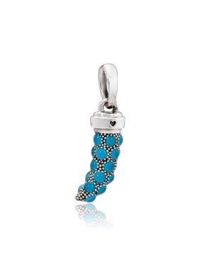 069613041 Product Image Turquoise Italian Horn Amulet Necklace Pendant 397203EN168.  Product TitlePANDORATurquoise ...