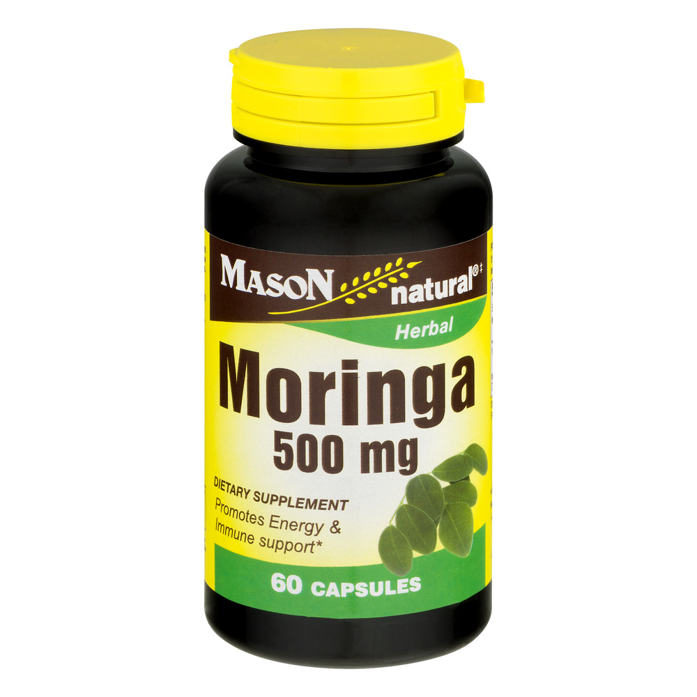 Mason Natural Moringa Capsules, 500 Mg, 60 Ct