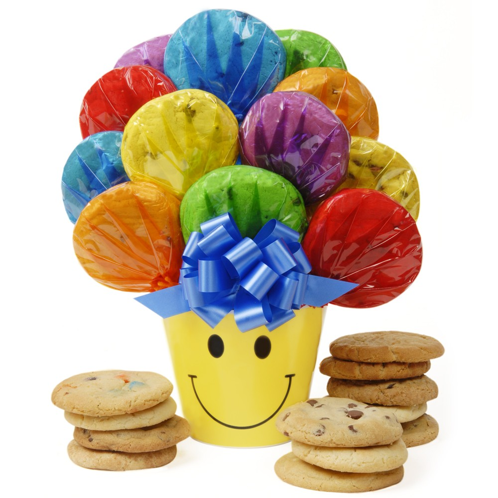 Nationwide Cookie Delivery! Send handcrafted gourmet gifts from Cookies by Design. Our cookie bouquets and arrangements are perfect for any holiday, birthday or special occasion. Same/Next day gift delivery available. Send a cookie gram today!