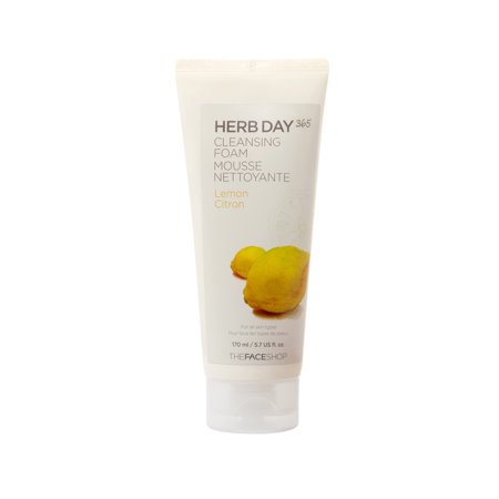 THE FACE SHOP Herb Day 365 Cleansing Foam -