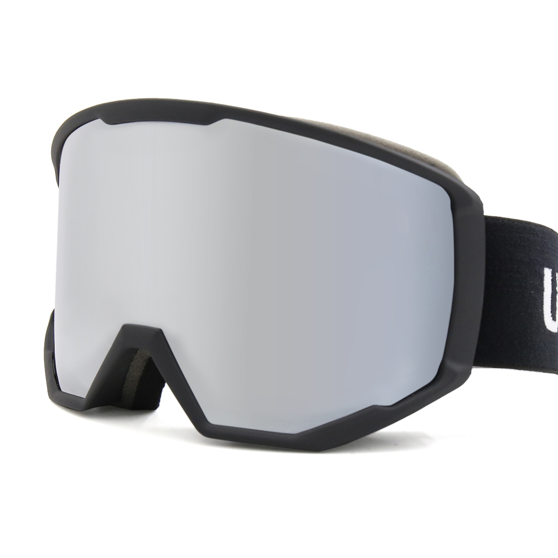 Ski Snowboard Anti-Fog UV400 Goggles Double Lens Cylinder Glasses Uxcell by Unique-Bargains