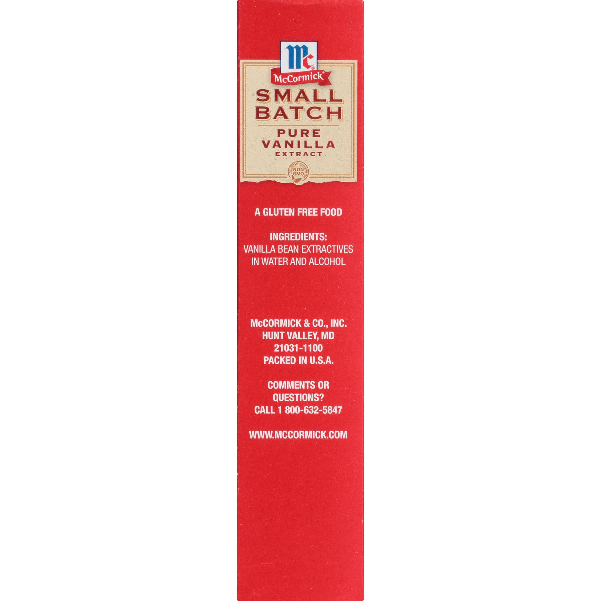 Small Batch Pure Vanilla Extract