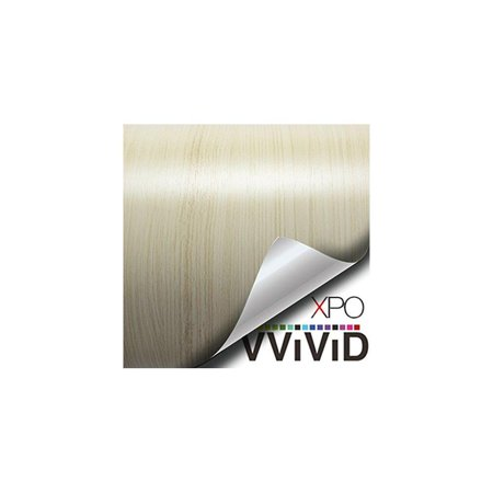 vvivid white maple wood grain faux finish textured vinyl wrap contact paper  film for home office furniture diy no mess easy to install air-release