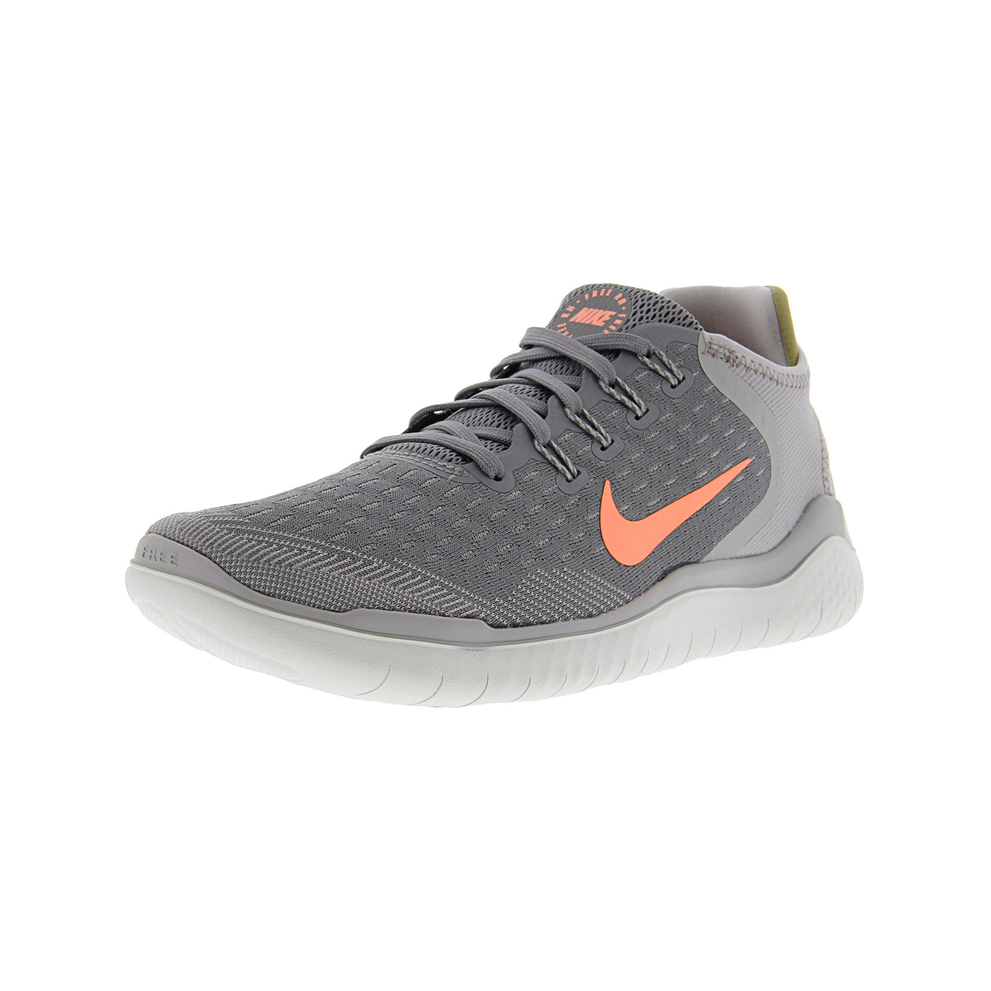 innovative design d0fae a41bf Nike Women's Free Rn 2018 Gunsmoke / Crimson Pulse Ankle-High Running Shoe  - 6.5M