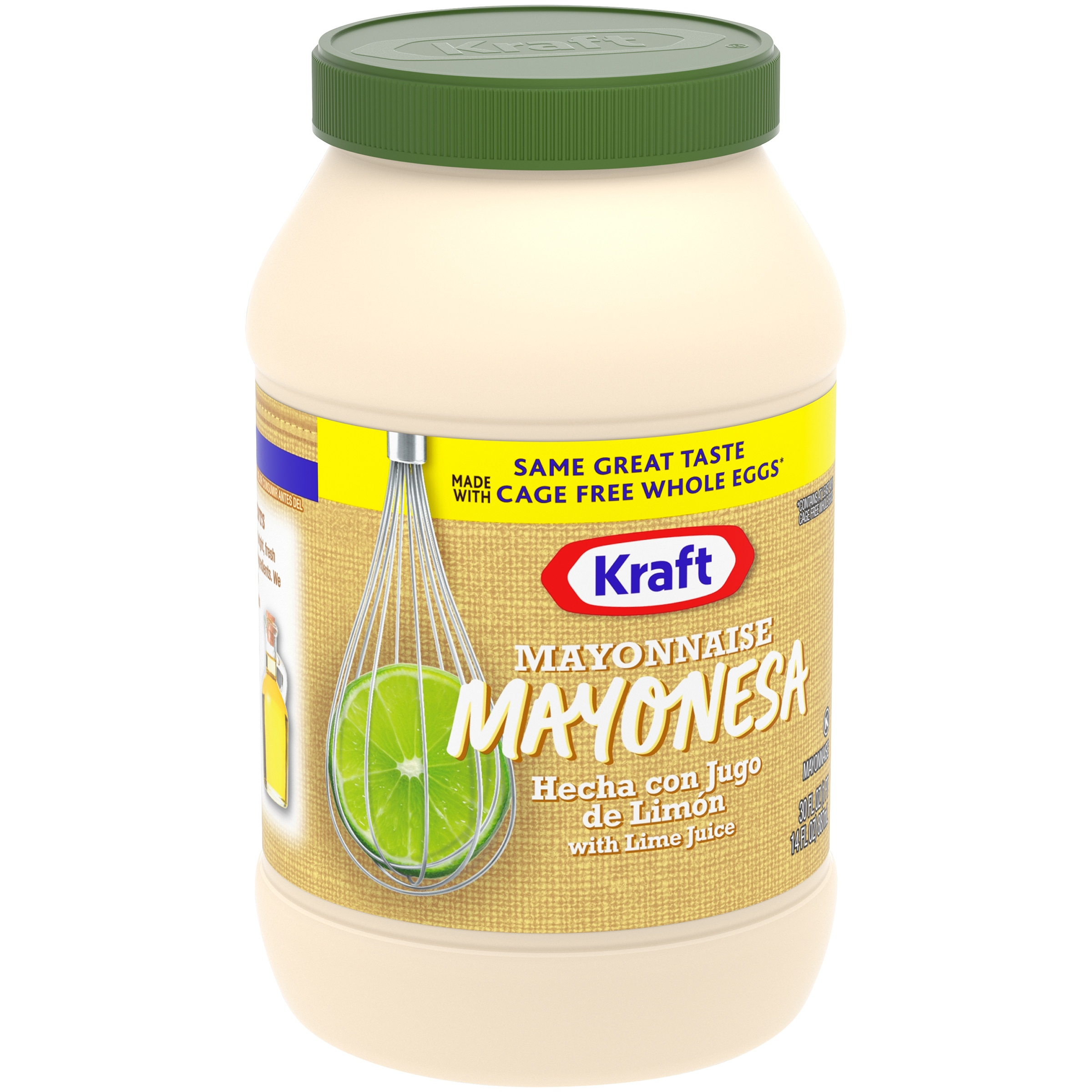 Kraft Real Mayonnaise with Lime Juice 30 fl. oz. Jar