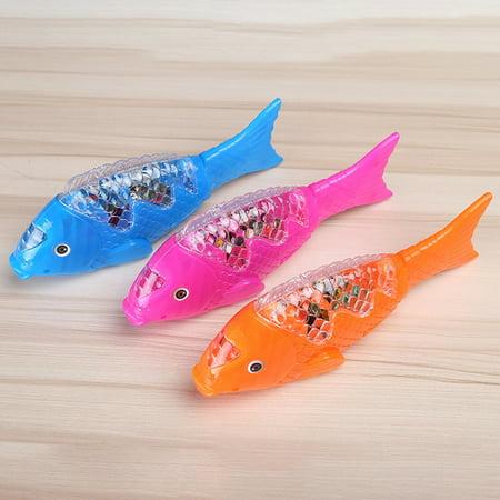 Electric Toy LED Music Clownfish Robe Fish Aquarium for Kid (Best Fish For Kids Aquarium)