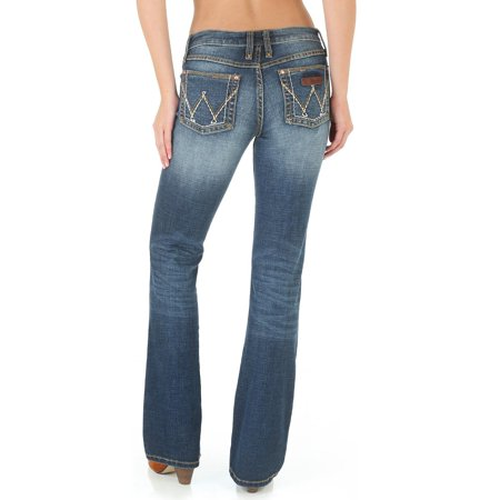 wrangler women's retro mae jeans boot cut - 09mwzms](Retro Boots)