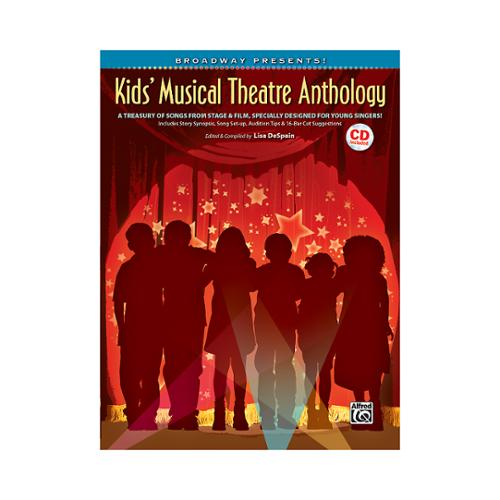 Alfred Broadway Presents! Kids' Musical Theatre Anthology Book & CD [SHeet music] Varies by Alfred