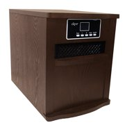Clevr Portable Electric 1500w Infrared Heater Quartz Remote 1800 SQ FT Fireplace