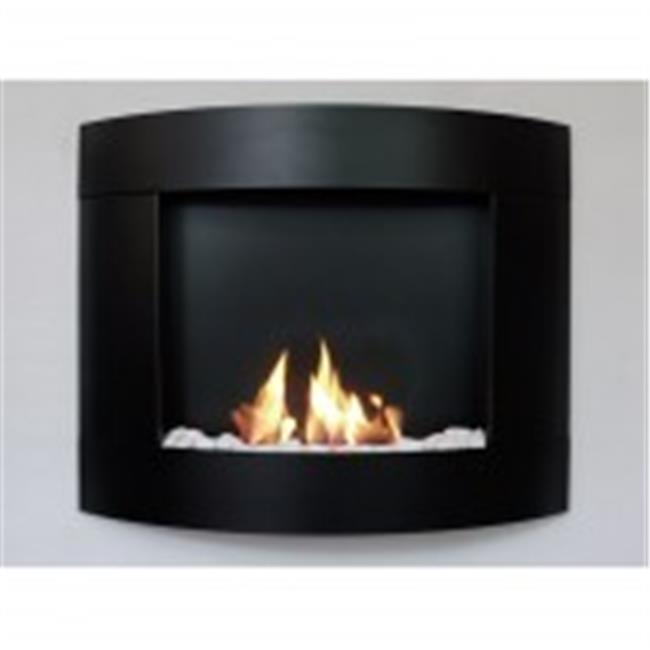 Bio-Blaze BB-D2B Diamond II Bio-ethanol Fireplace with Bloc Burner - Black