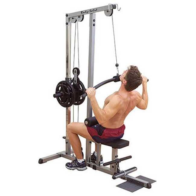 Body Solid Pro Lat Machine