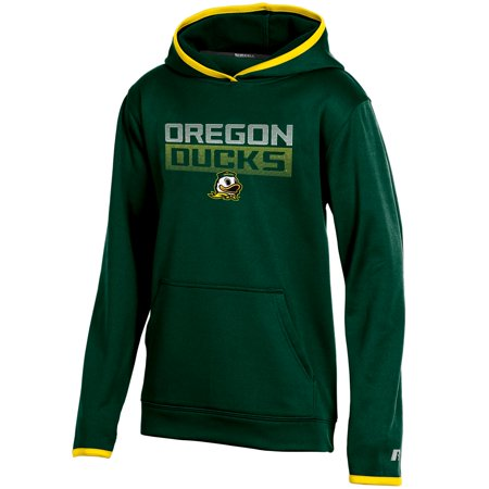 Youth Russell Green Oregon Ducks Pullover Hoodie