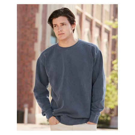 Comfort Colors Fleece Garment Dyed Ringspun Crewneck Sweatshirt 1566