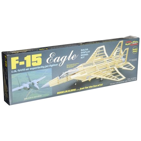 - 's F-15 Eagle Model Kit, F-15 Eagle is 1/40 scale By Guillow Ship from US