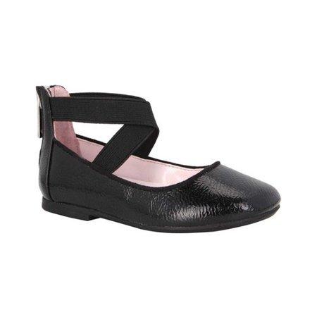 (Girls' Nina Marissa Cross Strap Shoe)