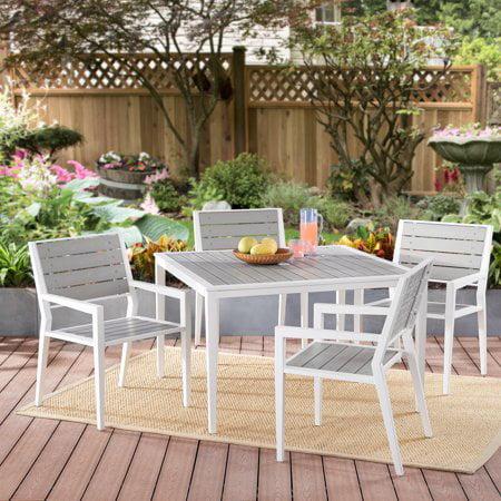 Better Homes & Gardens Villa Park 5-Piece Outdoor Patio Dining Set ()