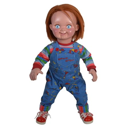 Good Halloween Ideas Guys (Child's Play 2 Good Guy Chucky 29 Inch Prop Doll with Replica)