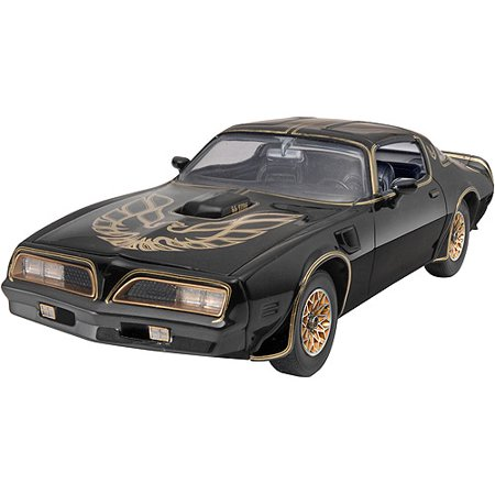 Plastic Model Kit, '77 Smokey And The Bandit Firebird, 1/25 - Architecture Model Kits