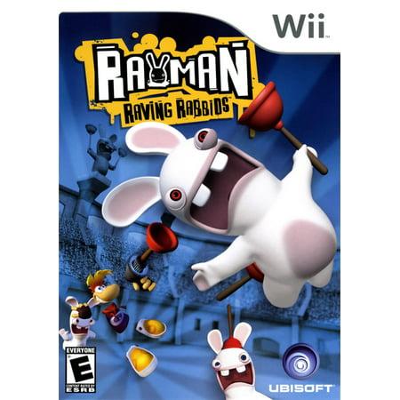 Rayman Raving Ribids - Nintendo Wii