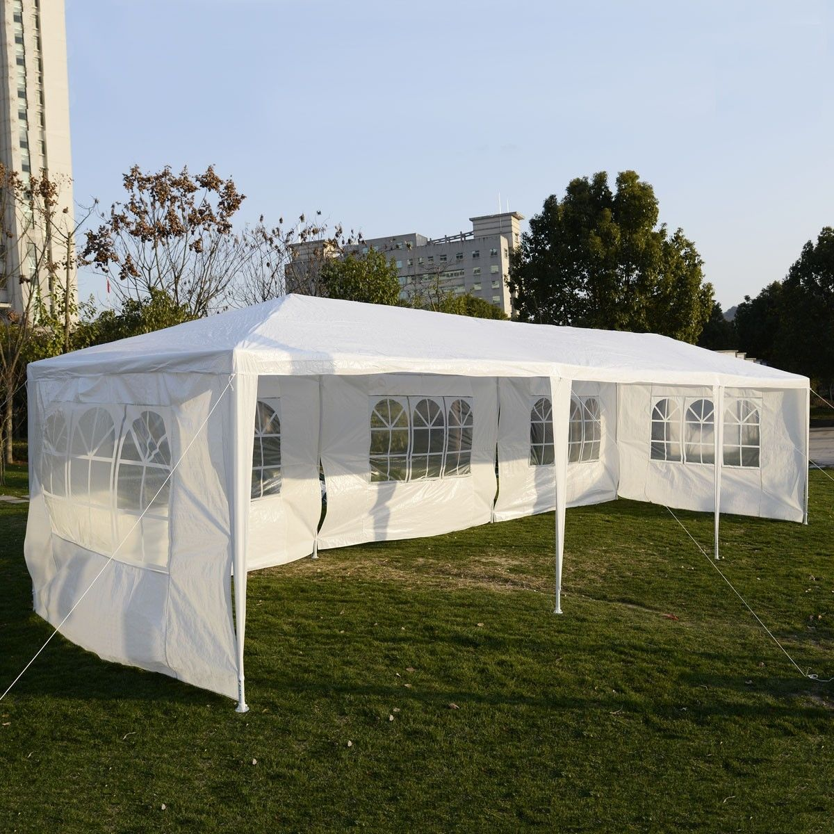 costway party wedding outdoor patio tent canopy heavy duty gazebo pavilion event - Outdoor Canopies