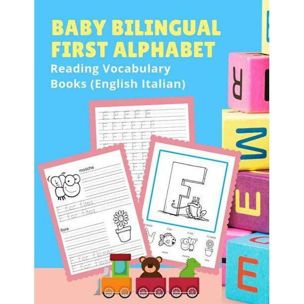 Baby Bilingual First Alphabet Reading Vocabulary Books ...