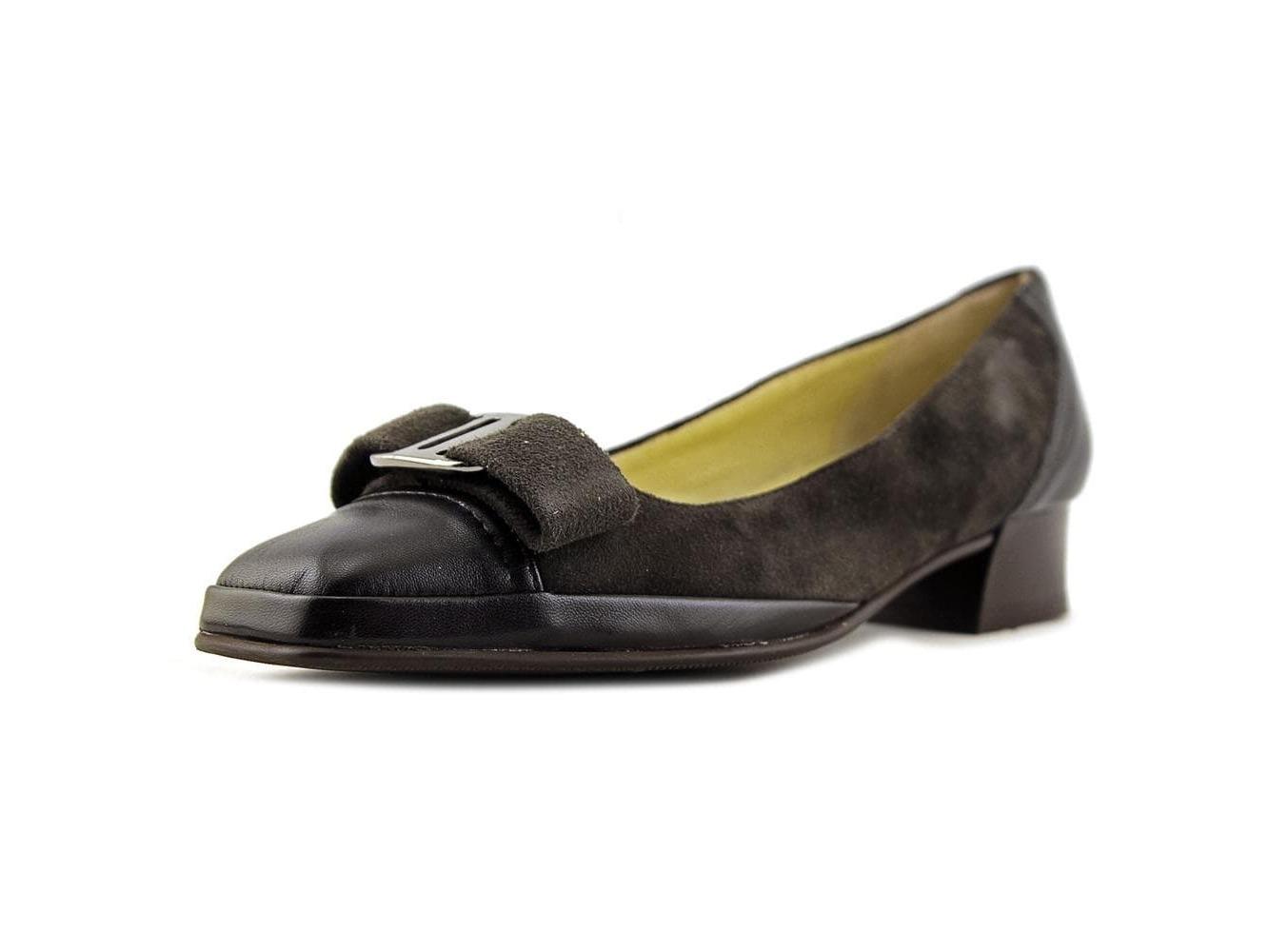 Amalfi By Rangoni Womens Mambo Leather Square Toe Classic Pumps by Amalfi by Rangoni