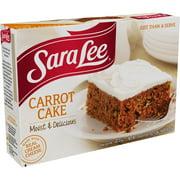Sara Lee Carrot Cake 19 oz. Box