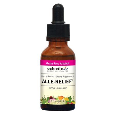 Alle-Relief (formerly  Nettle - Eyebright) Extract Eclectic Institute 2 oz Liquid - Eyebright Nettle Compound