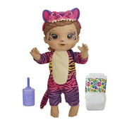 Baby Alive Rainbow Wildcats Doll, Tiger  Accessories, Drinks, Wets, Tiger Toy for Kids