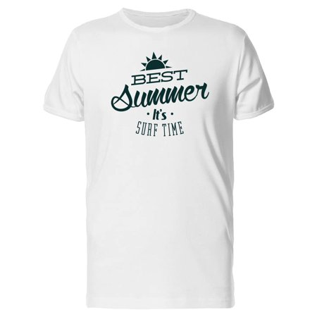 Best Summer Its Surf Time Tee Men's -Image by