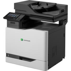 Lexmark CX820de Laser Multifunction Printer - Color - Plain Paper Print - Desktop - Copier/Fax/Printer/Scanner - 52 ppm Mono/52 ppm Color Print - 2400 x 600 dpi Print - 1 x Input Tray 550 Sheet,