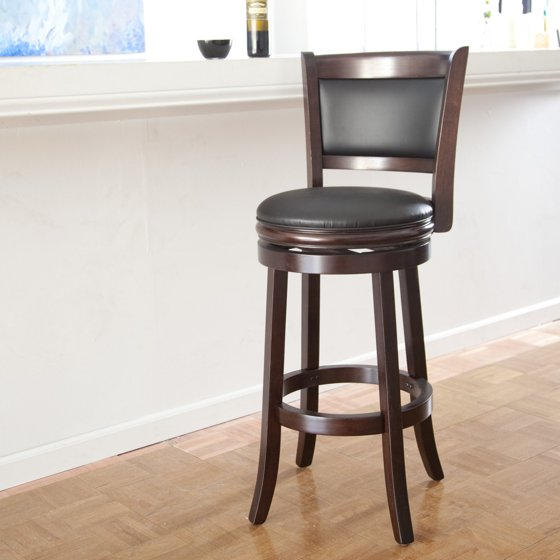 Boraam Augusta 29 Quot Swivel Bar Stool Multiple Finishes