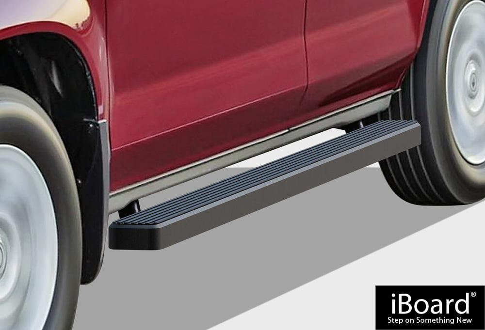 6in Wide Aluminum Nerf Bars Side Steps APS iBoard Black Running Boards Style Custom Fit 2009-2015 Honda Pilot Sport Utility 4-Door /& 2009-2013 Acura MDX
