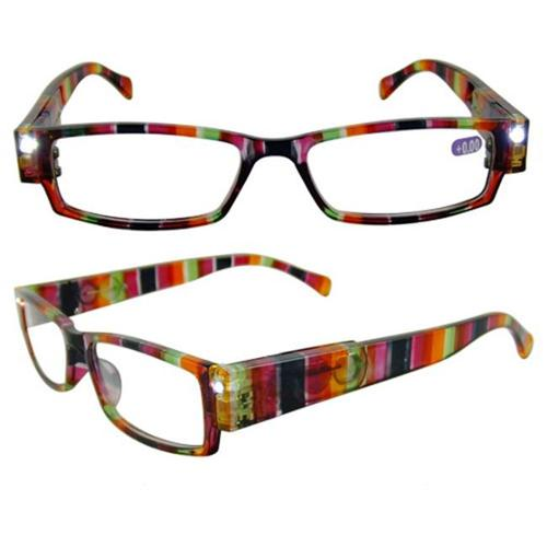 eyebeamers 005 1 00 led lighted reading glasses rainbow